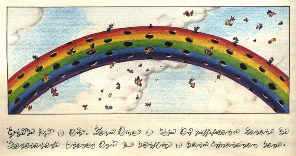 codex seraphinianus big rainbow