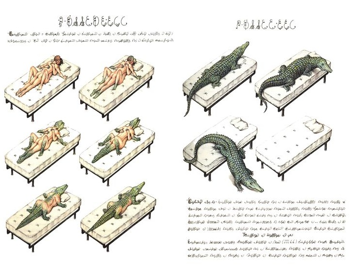 codex seraphinianus crocodile