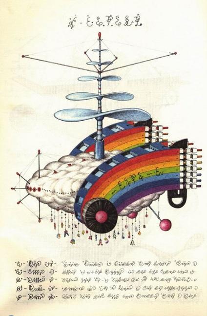 codex seraphinianus rainbow
