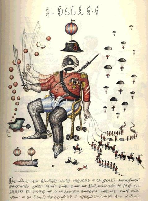 codex seraphinianus war