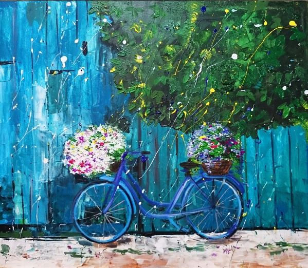 Alena Shymchonak - Bicycle