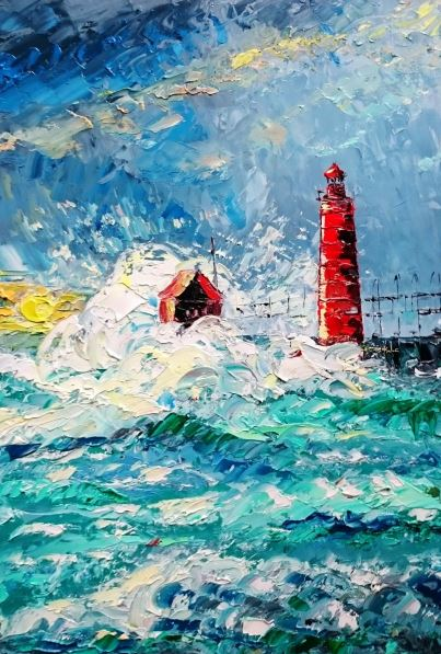 Alena Shymchonak - Lighthouse