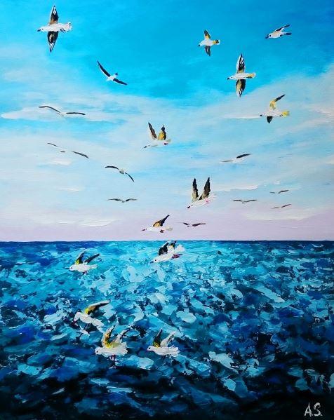Alena Shymchonak - Seagulls