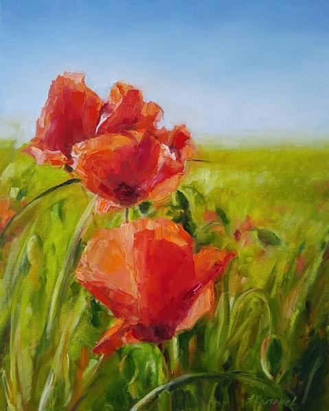 Alexander Koltakov - Poppies