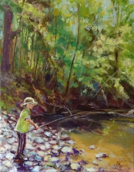Alexander Koltakov - Young fisherman