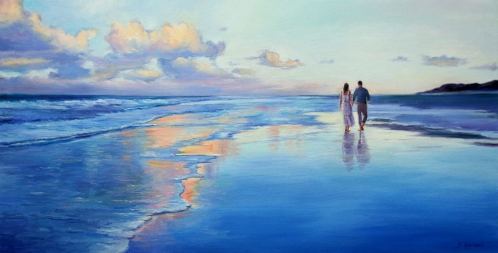Behshad Arjomandi - Walking on the beach