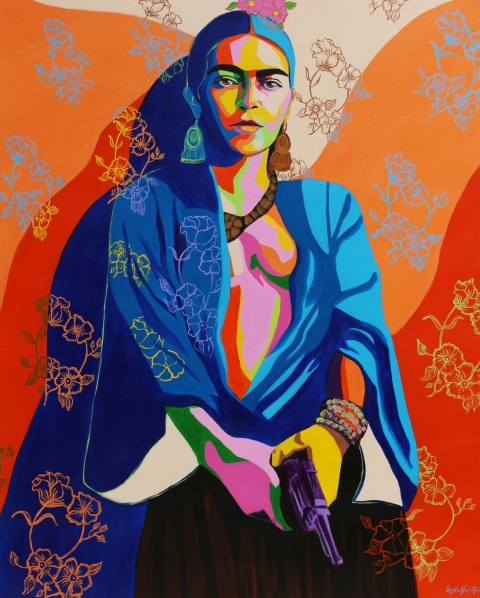 Gisella Stapleton - Rebel. Inspired by a fake