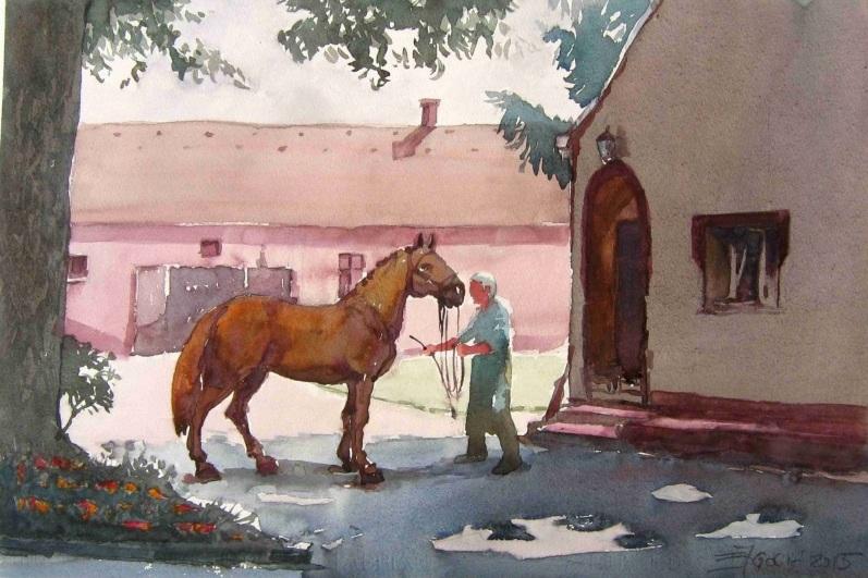 Goran Žigolić - State Lipizzaner horse-farm Đakovo