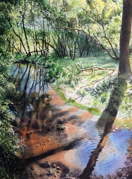 Igor Dubovoy - Forest stream