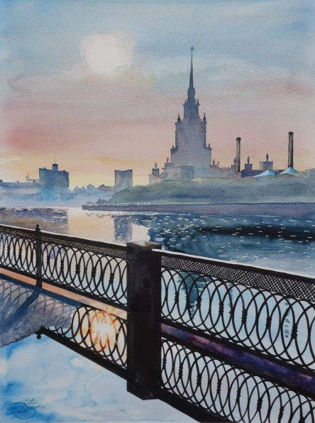 Igor Dubovoy - Moscow morning