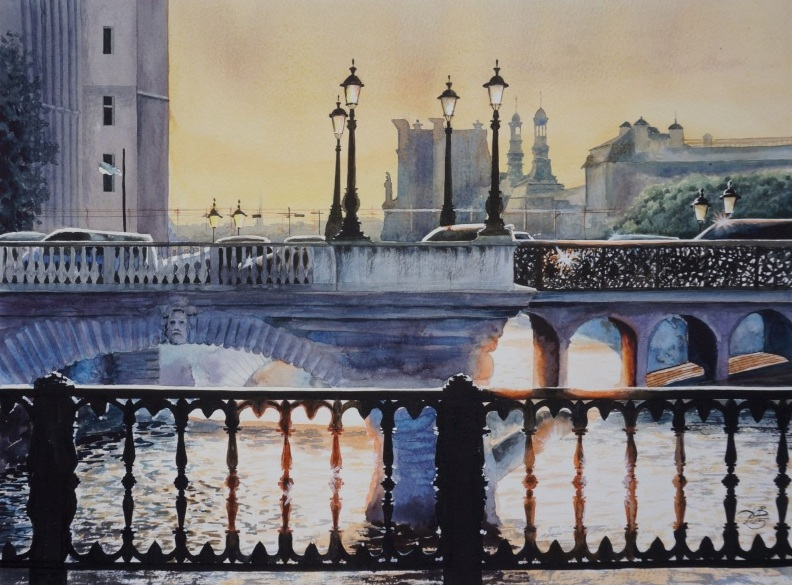 Igor Dubovoy - Parisian patches of light