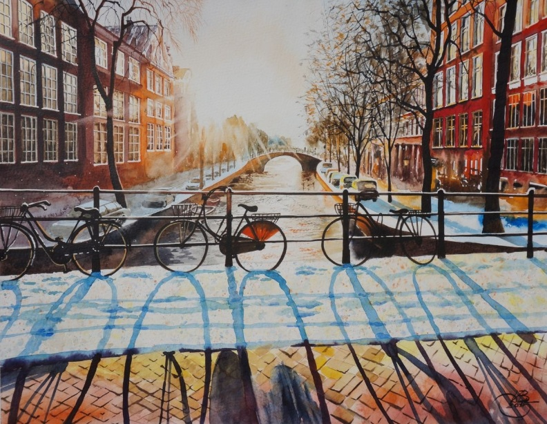 Igor Dubovoy - Sunny Amsterdam