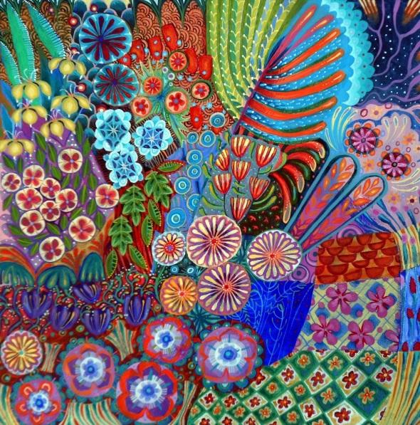 Imogen Skelley - A Walk in the Garden