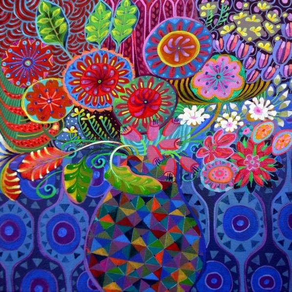 Imogen Skelley - The Mosaic Vase