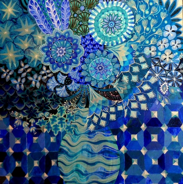 Imogen Skelley - The Tiled Wall