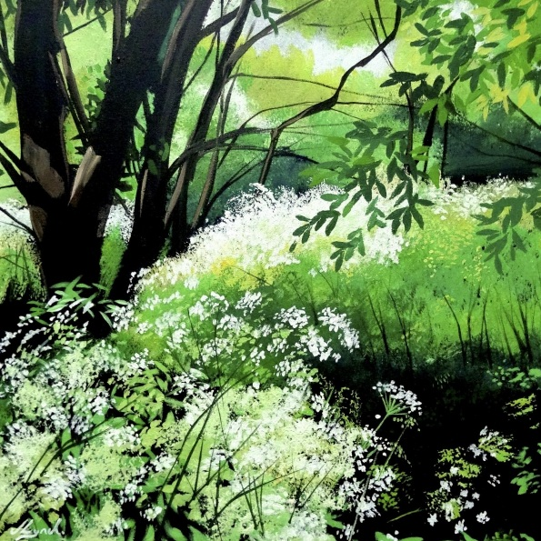 Joseph Lynch - Cow Parsley Sunlight