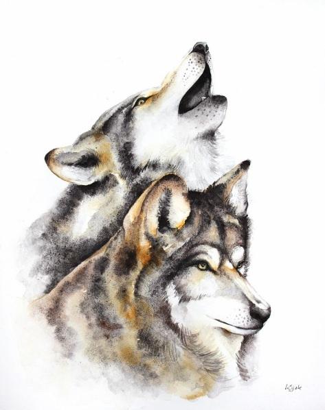 Karolina Kijak - wolves