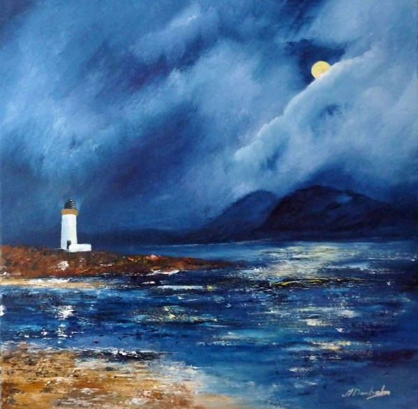 Margaret Denholm - Loch Indaal and The Paps of Jura