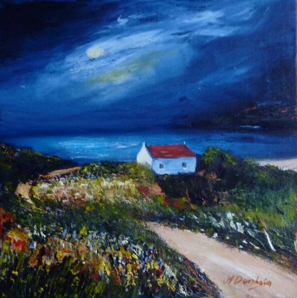 Margaret Denholm - Moonlight and Machair