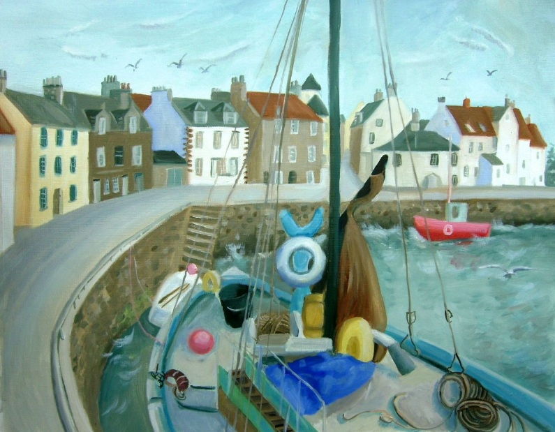 Mary Stubberfield - Pittenween Harbour