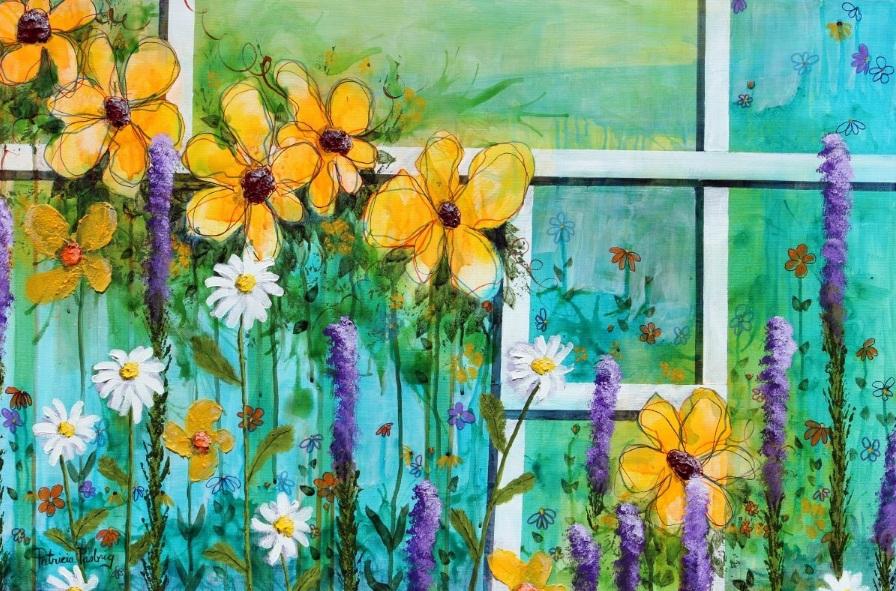 Patricia Pasbrig - Flower Ladder