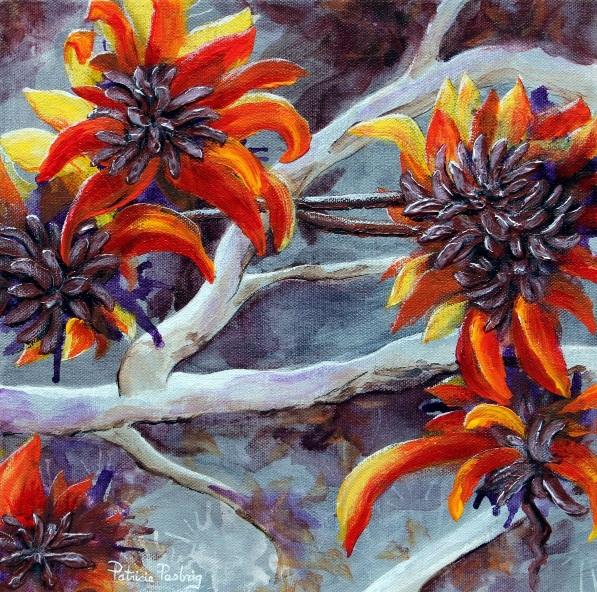 Patricia Pasbrig - Treed Flowers