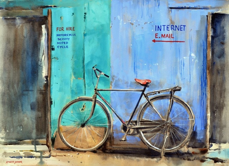 Ramesh Jhawar - Bicycle For Hire