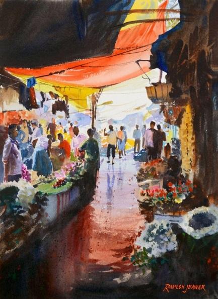 Ramesh Jhawar - Flower Market