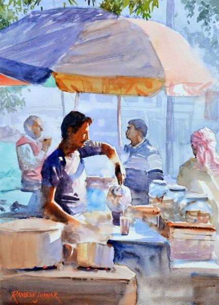 Ramesh Jhawar - The Chaiwallah (Tea Vendor)
