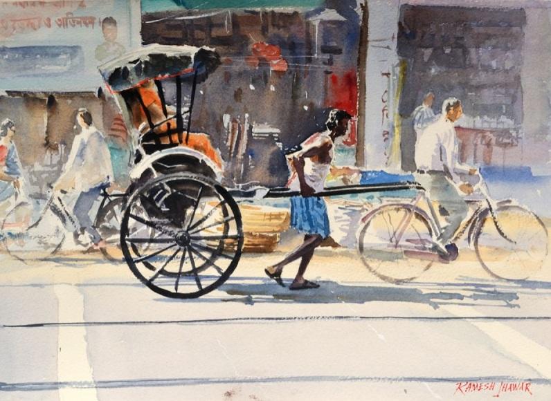 Ramesh Jhawar - The Rickshaw Puller