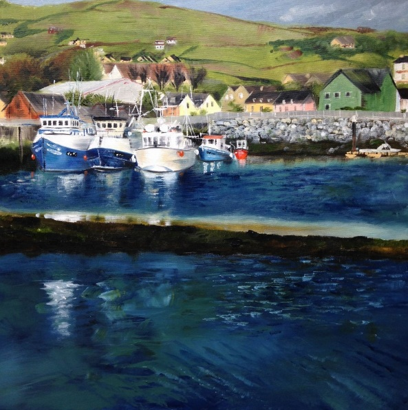 Sally Prendergast - Dingle Harbour, Co. Kerry, Ireland