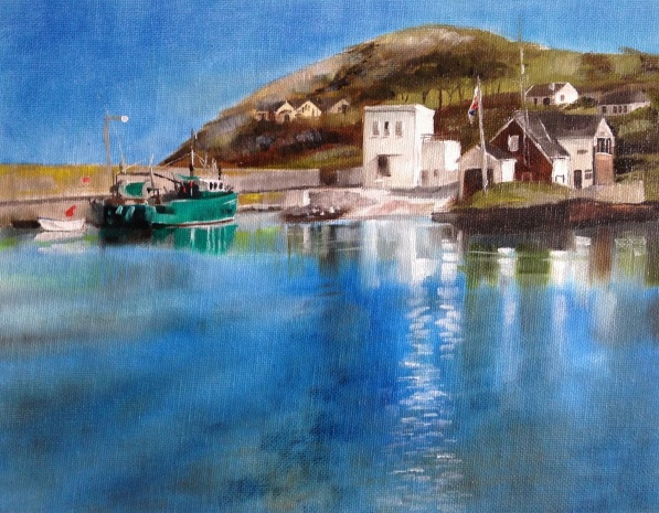 Sally Prendergast - Helvick Harbour
