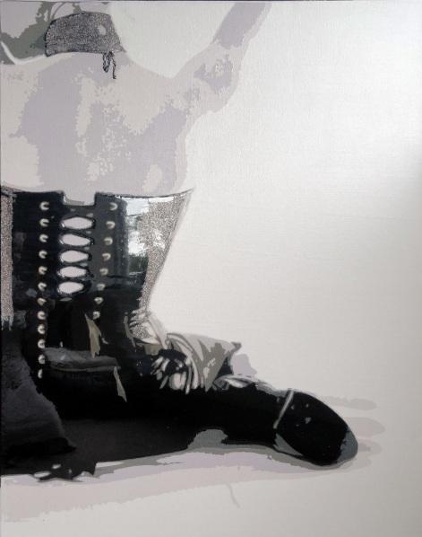 Sue Rowe - Black Corset