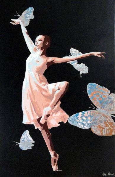 Sue Rowe - Peach Ballerina