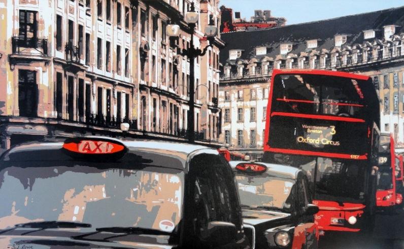 Sue Rowe - Regent Street, London