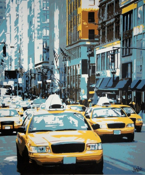 Sue Rowe - Yellow Cabs