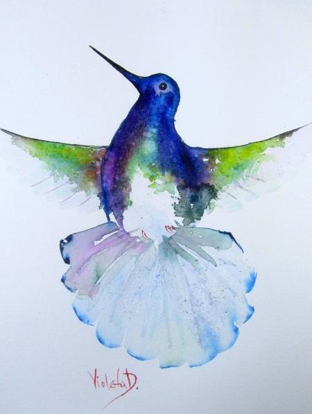 Violeta Damjanovic-Behrendt - The Hummingbird
