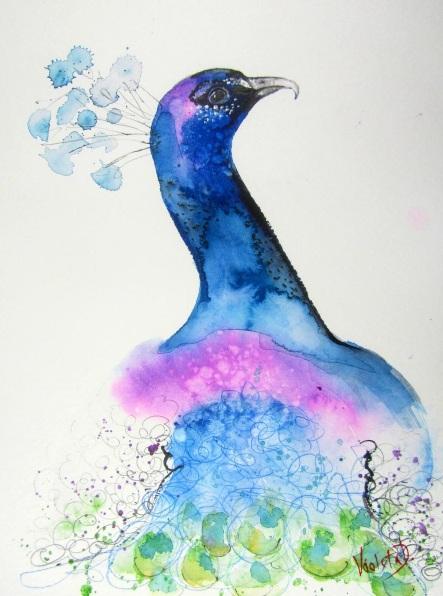 Violeta Damjanovic-Behrendt - The Indian Peacock