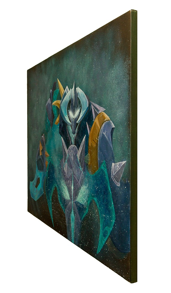 wombart-dota2-chaos-knight-side-view-artwork-art-painting-устименко-картина-дота2