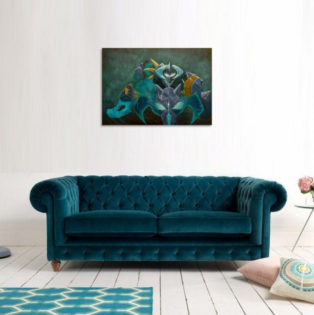 Yuliia Ustymenko - Dota 2 Chaos Knight art