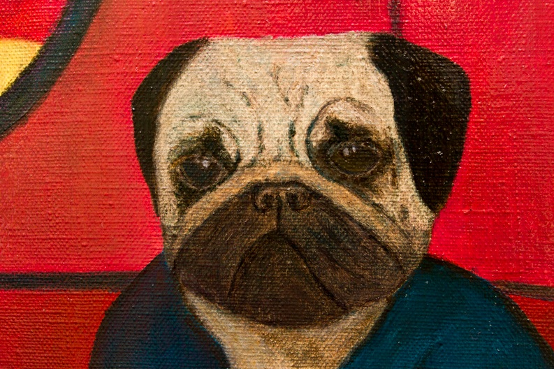 wombart-pugasso-absinth-lover-detail-pug-portrait-painting-art-artwork-устименко-картина-мопс-портрет