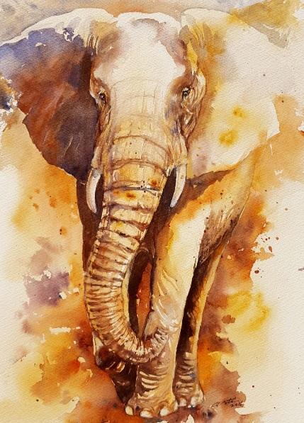 arti-chauhan-bronze-bill-elephant