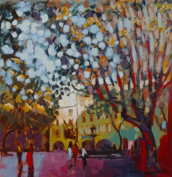 duncan-barker-uzes-place-aux-herbes-autumn-light