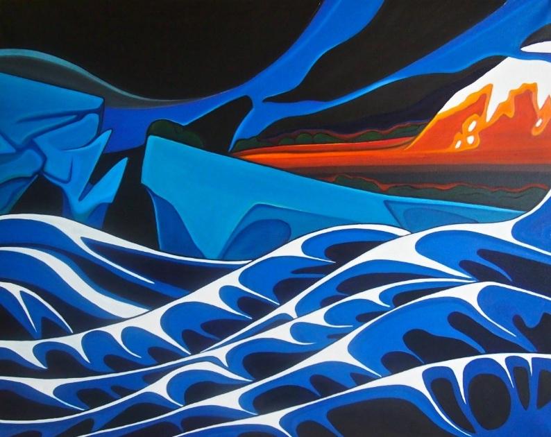 Gildas Le Berre - L'image d'un monde flottant