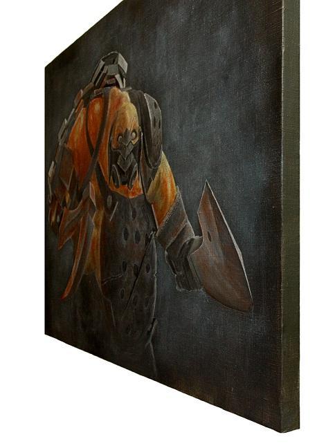 wombart-ustymenko-dota2-pudge-side-view-art-painting-artwork-дота2-пудж-картина-устименко
