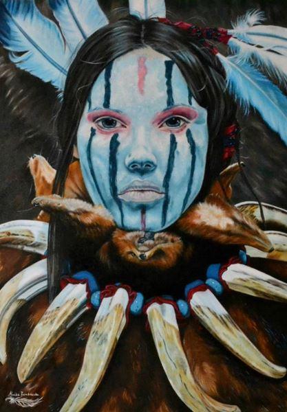 monika-rembowska-blu-face