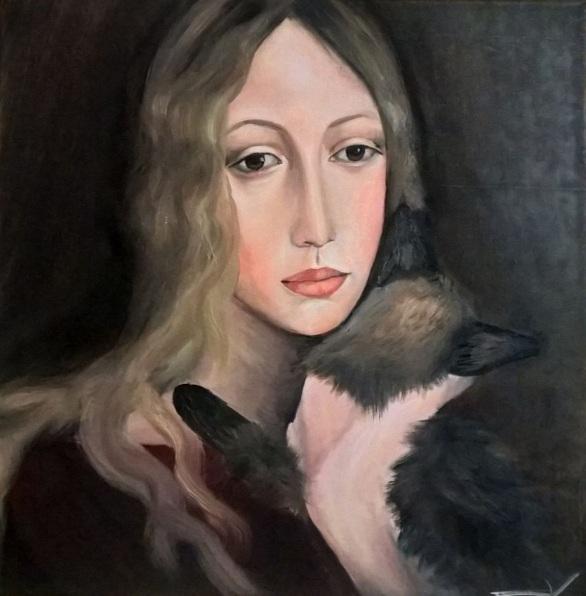 viktoria-deri-woman-with-a-cat