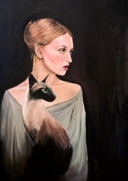 viktoria-deri-woman-with-a-siamese-cat