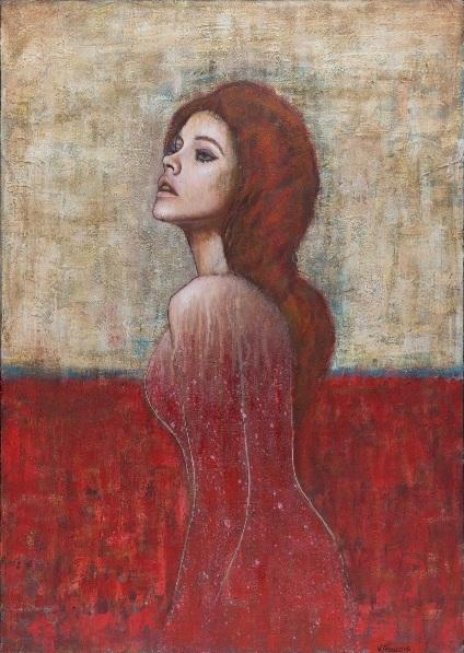vittorio-franco-portrait-of-woman-red