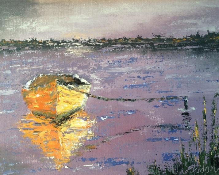 alina-madan-yellow-boat